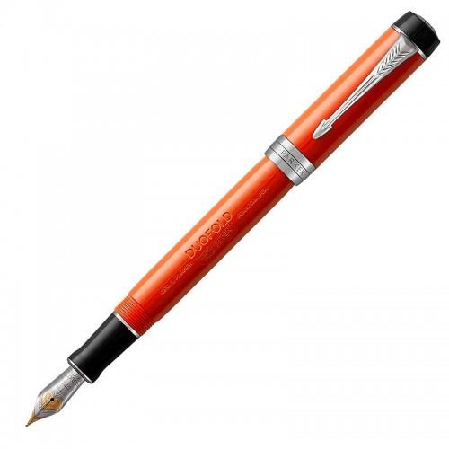 Перьевая ручка Parker (Паркер) Duofold Centennial Classic Big Red Vintage CT F в Казани