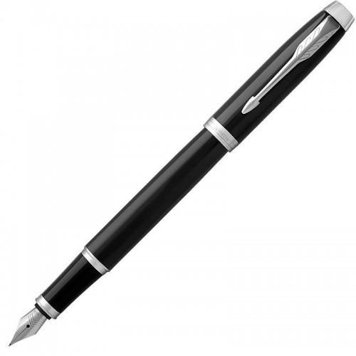 Перьевая ручка Parker (Паркер) IM Core Black Chrome CT F в Казани