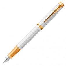Перьевая ручка Parker (Паркер) IM Premium Pearl GT F