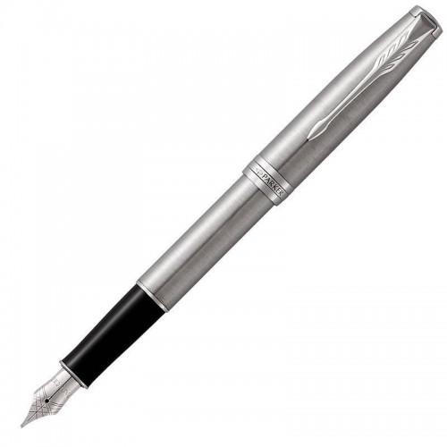 Перьевая ручка Parker (Паркер) Sonnet Core Stainless Steel CT F в Казани