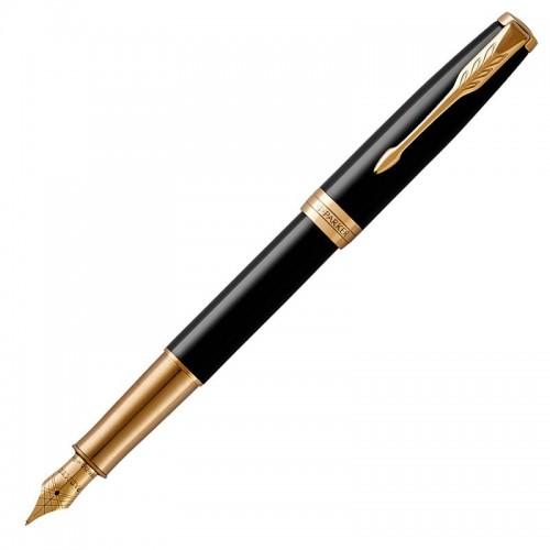 Перьевая ручка Parker (Паркер) Sonnet Core Black Lacquer GT F в Казани