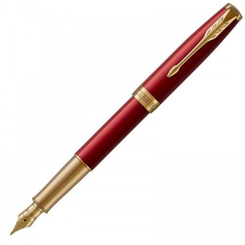 Перьевая ручка Parker (Паркер) Sonnet Core Red Lacquer GT F 18k в Казани