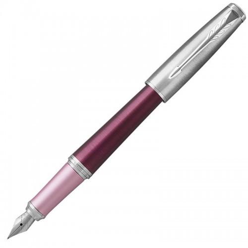 Перьевая ручка Parker (Паркер) Urban Premium Dark Pink CT F в Казани