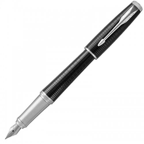 Перьевая ручка Parker (Паркер) Urban Premium Ebony Metal Chiselled CT F в Казани