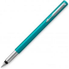 Перьевая ручка Parker (Паркер) Vector Standard F01 Blue Green CT F