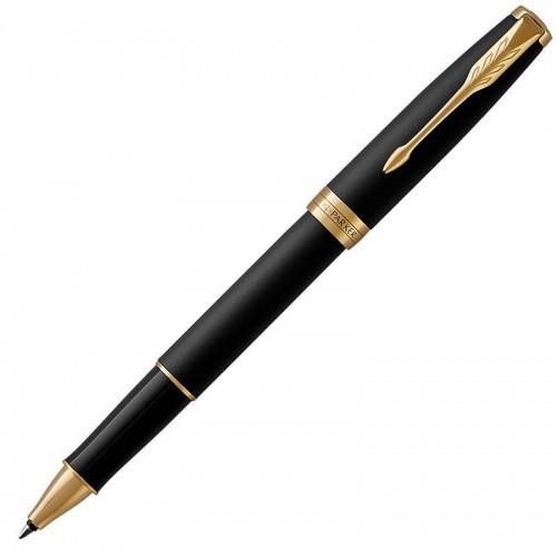 Ручка-роллер Parker (Паркер) Sonnet Core Matte Black Lacquer GT в Казани