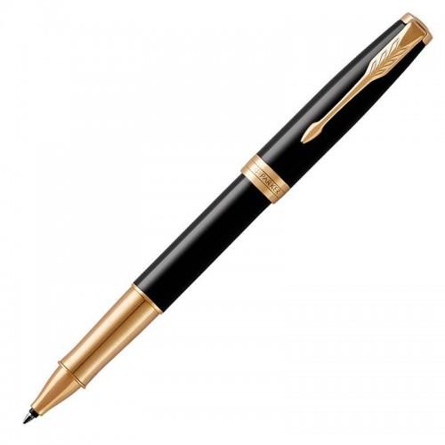 Ручка-роллер Parker (Паркер) Sonnet Core Black Lacquer GT в Казани