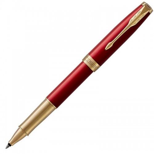 Ручка-роллер Parker (Паркер) Sonnet Core Red Lacquer GT в Казани