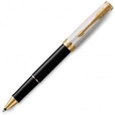 Ручка-роллер Parker (Паркер) Sonnet Fougere Black GT
