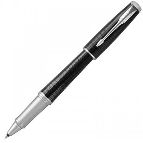 Ручка-роллер Parker (Паркер) Urban Premium Ebony Metal Chiselled CT в Казани