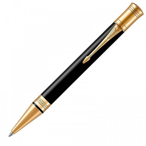 Шариковая ручка Parker (Паркер) Duofold Classic Black GT в Казани