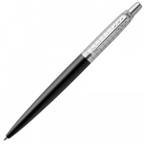 Шариковая ручка Parker (Паркер) Jotter Premium Bond Street Black Grid CT в Казани