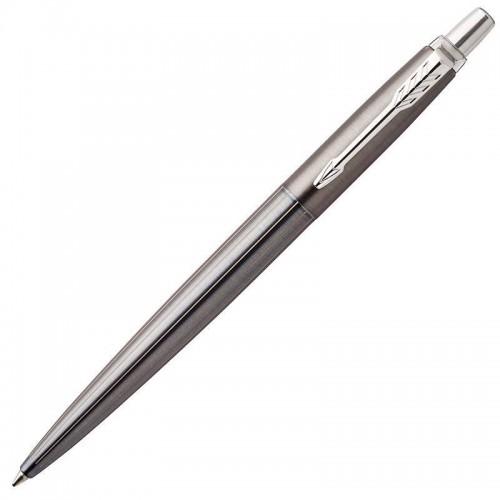 Шариковая ручка Parker (Паркер) Jotter Premium Oxford Grey Pinstripe CT в Казани