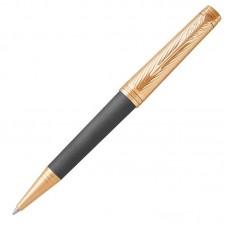Шариковая ручка Parker (Паркер) Premier Storm Grey GT