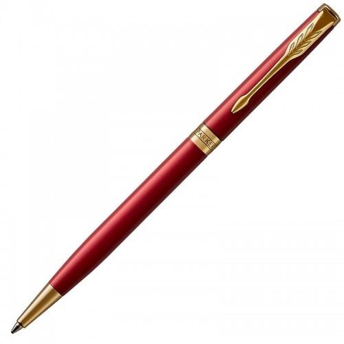 Шариковая ручка Parker (Паркер) Sonnet Core Slim Red Lacquer GT в Казани