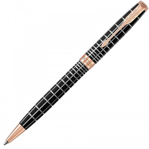 Шариковая ручка Parker (Паркер) Sonnet Premium Brown Rubber PGT в Казани