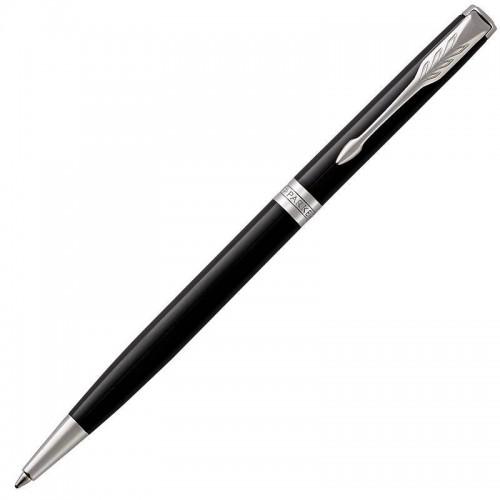 Шариковая ручка Parker (Паркер) Sonnet Core Slim Black Lacquer CT в Казани