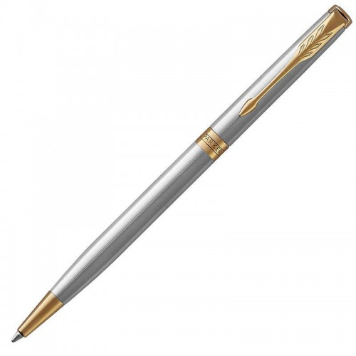 Шариковая ручка Parker (Паркер) Sonnet Core Slim Stainless Steel GT в Казани
