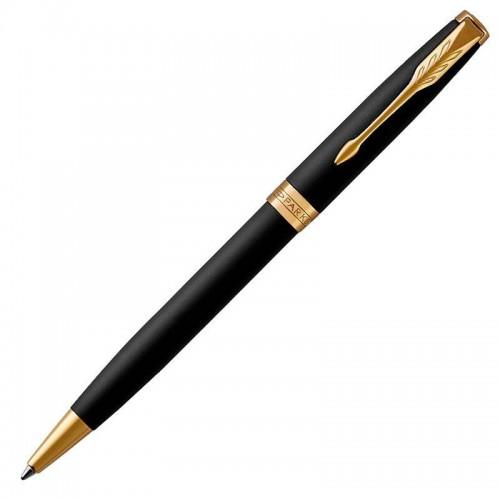 Шариковая ручка Parker (Паркер) Sonnet Core Matte Black Lacquer GT в Казани
