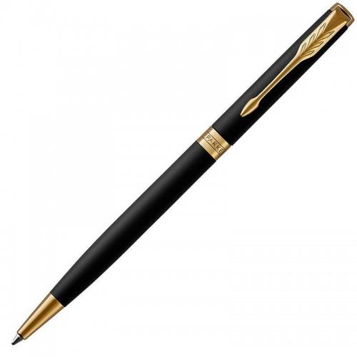 Шариковая ручка Parker (Паркер) Sonnet Core Slim Matte Black Lacquer GT в Казани