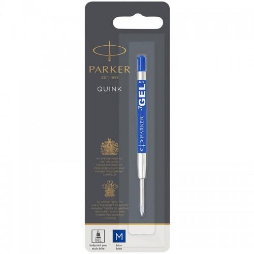 Синий гелевый стержень Parker (Паркер) Gel Pen Refill M в Казани