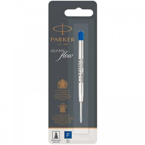 Синий шариковый стержень Parker (Паркер) Ball Pen Refill QuinkFlow Premium F Blue в Казани