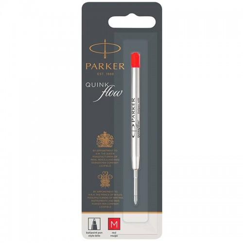 Красный шариковый стержень Parker (Паркер) Ball Pen Refill QuinkFlow Premium M Red в Казани